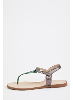 DeFacto Yılan Desenli Sandalet
